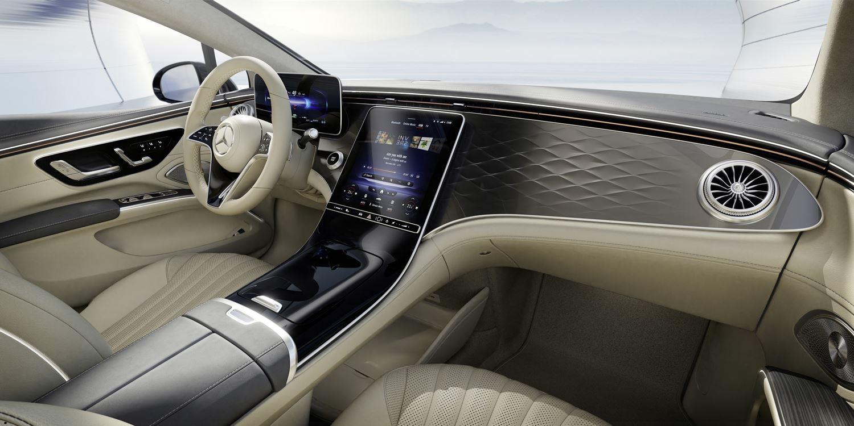 Mercedes EQS neues Zierteil pattern