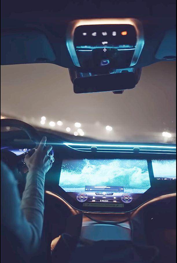 Mercedes EQS Interieur Teaser V297