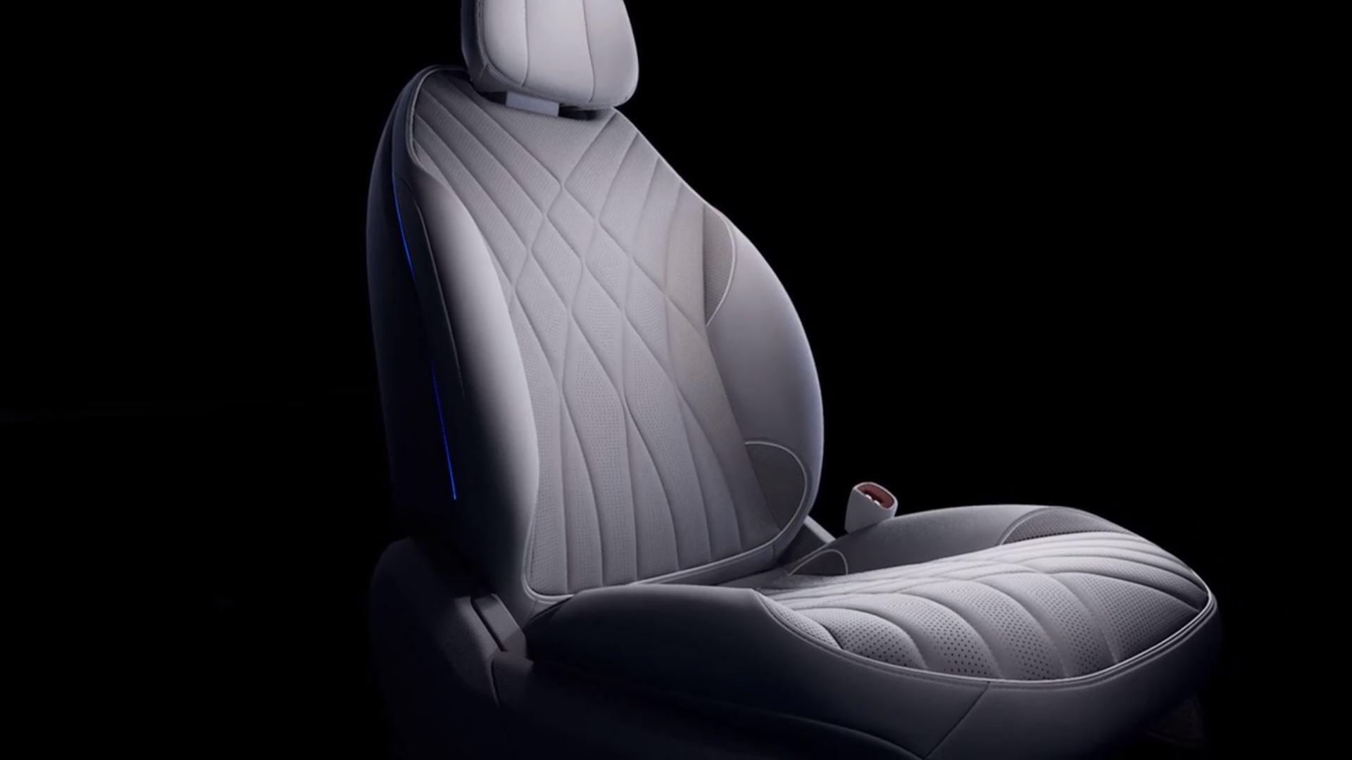 Mercedes EQS Komfortsitz