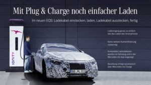 Mercedes EQS Plug and Charge
