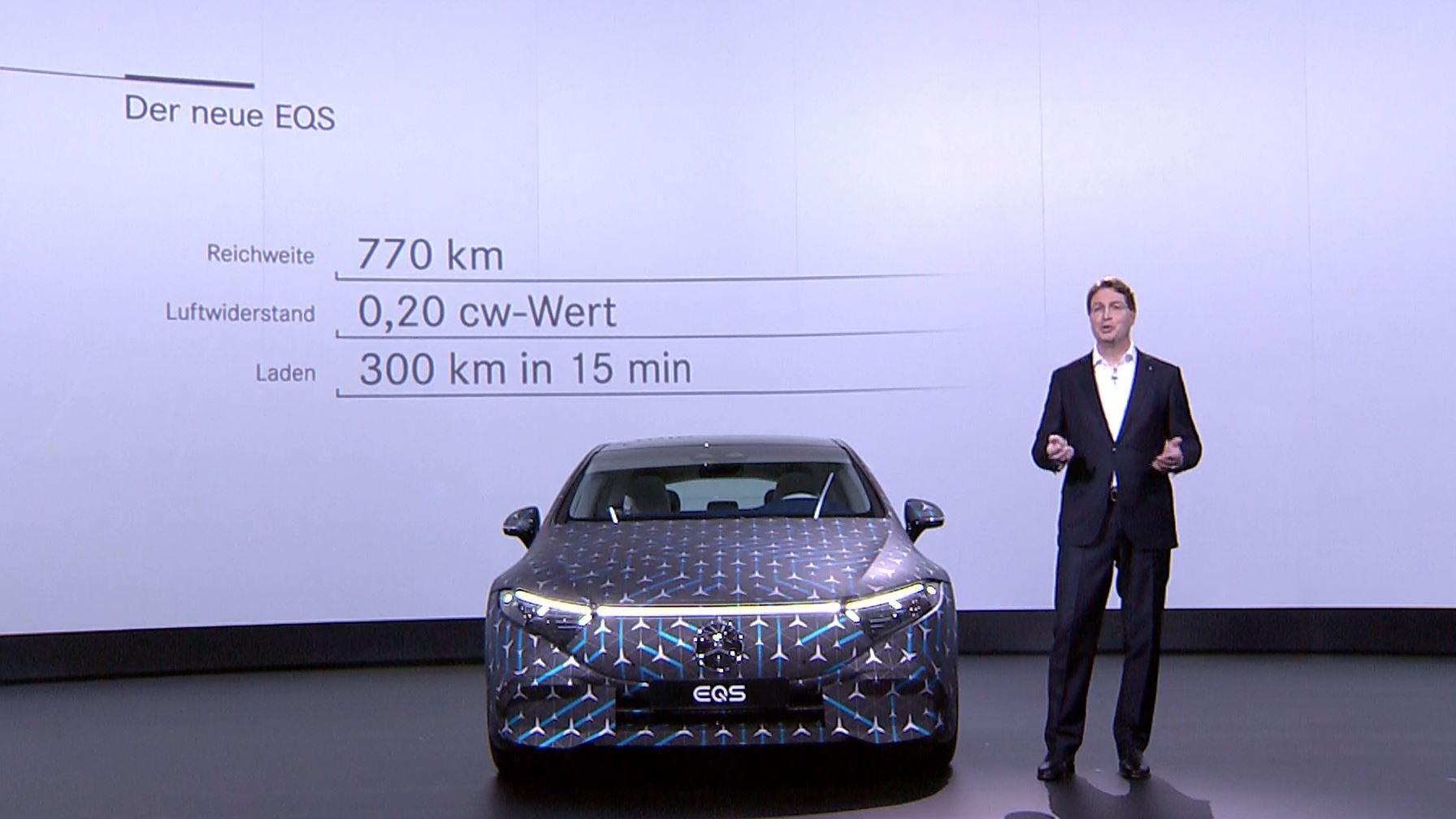 Mercedes EQS Fakten