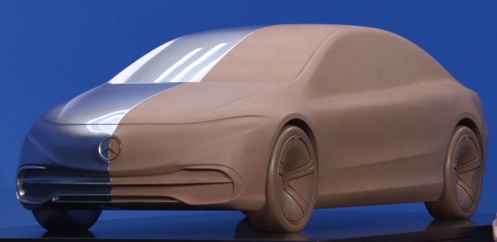 Mercedes EQS Tonmodel