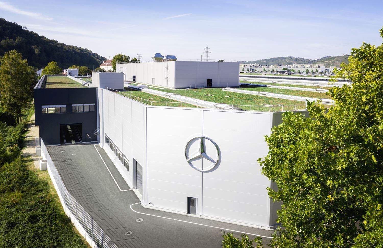 Mercedes Batteriewerk Brühl PHEV