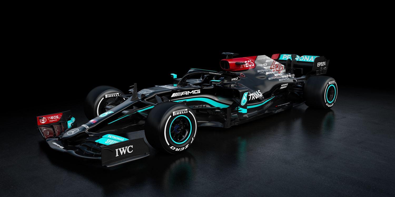 Mercedes AMG W12 E Performance Formel 1