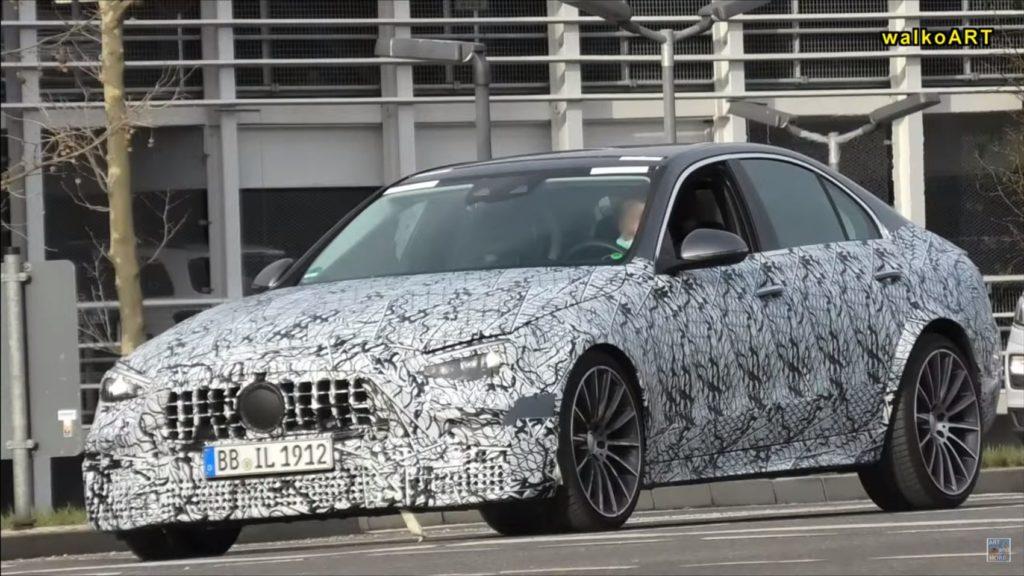 Mercedes AMG C63e 4matic+ W206