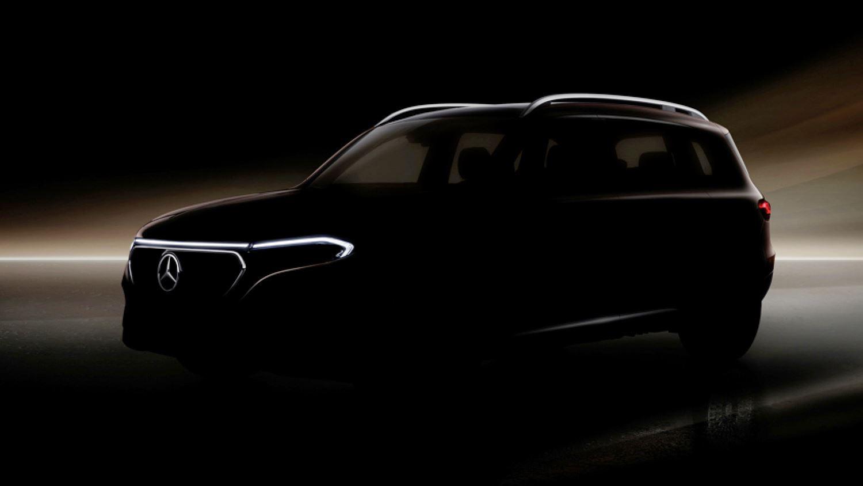 Mercedes EQB Teaser X243