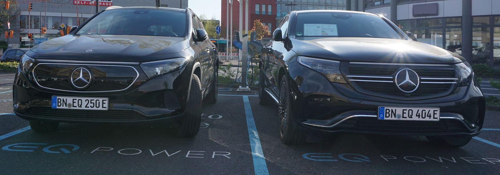 Mercedes EQC und EQA