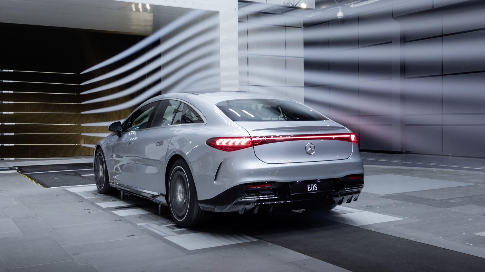 Mercedes EQS cW-Wert