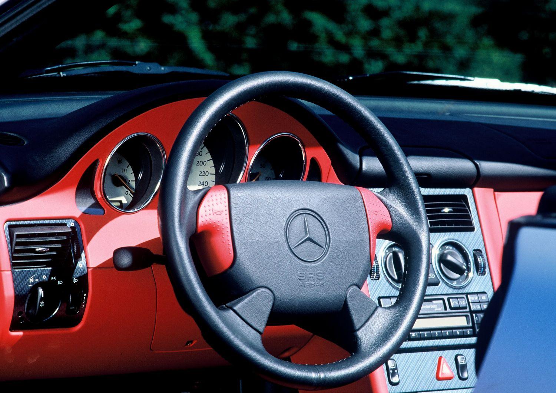 Mercedes SLK R170 Interieur