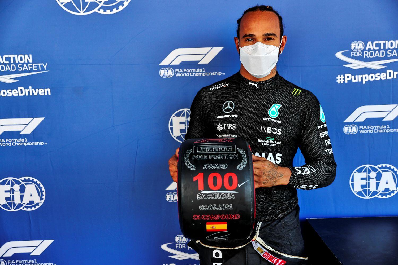 Lewis Hamilton 100 Pole Positions