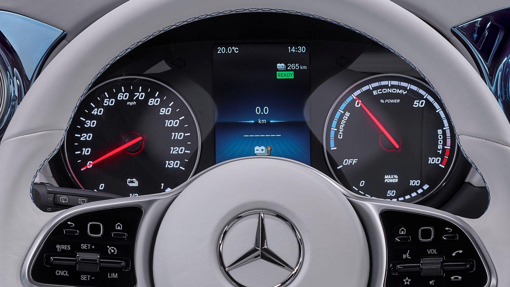Mercedes Concept EQT Interieur
