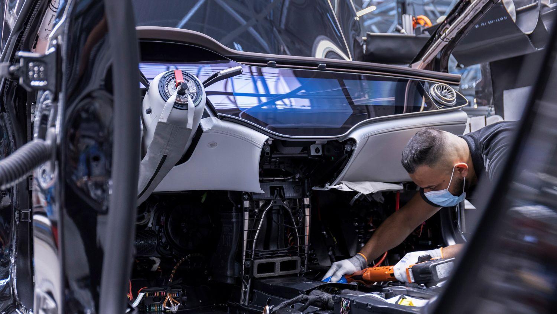 Mercedes EQS Produktion Sindelfingen