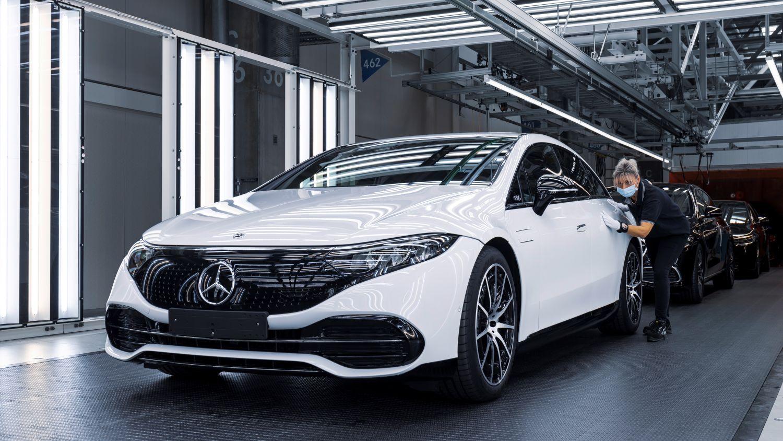 Mercedes EQS Factory 56