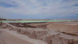Lithium Abbau Felder Chile