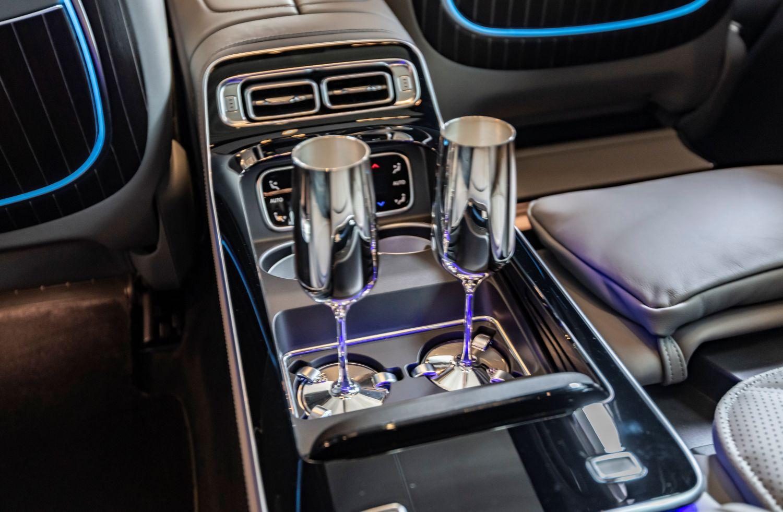 Maybach S-Klasse Luxus Interieur
