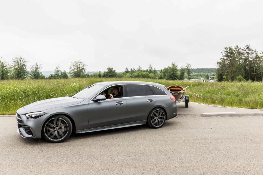 Mercedes C-Klasse T-Modell Anhängerrangier Assistent
