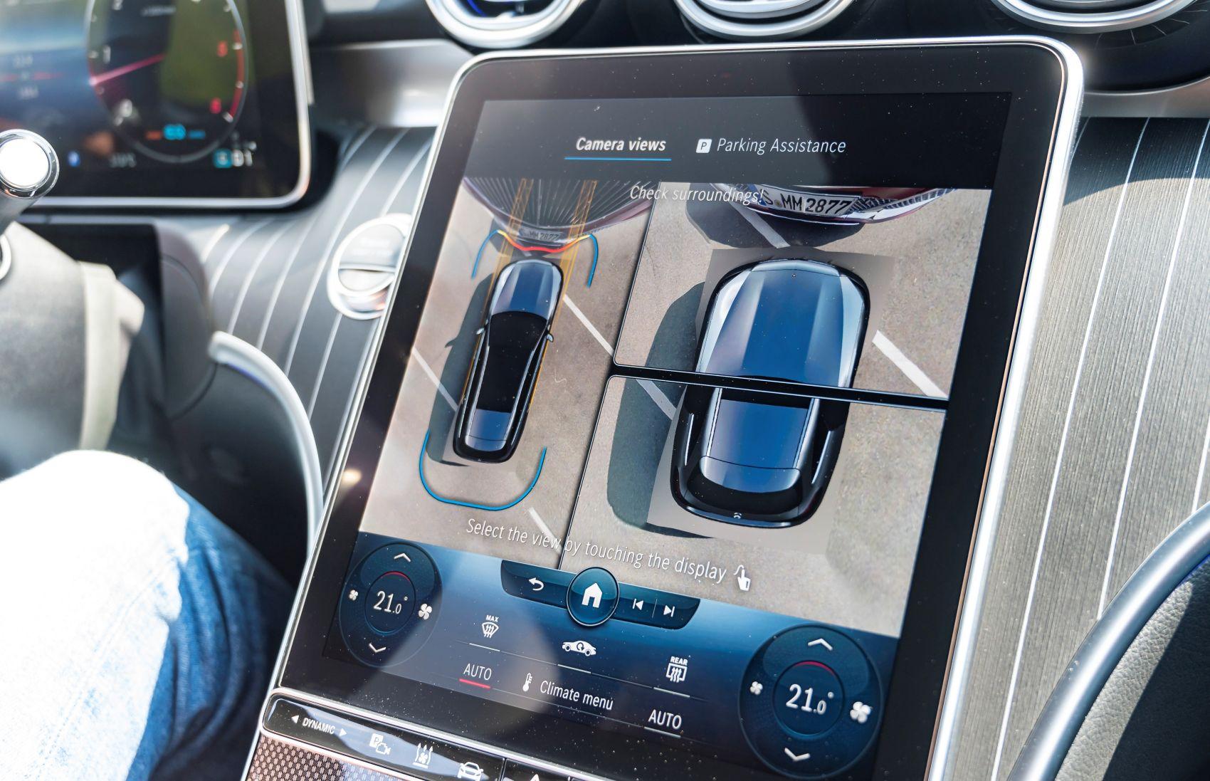 Mercedes C-Klase 360 Grad Kamera
