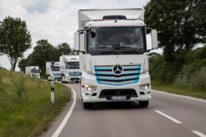 Mercedes eActros Verteilerverkehr