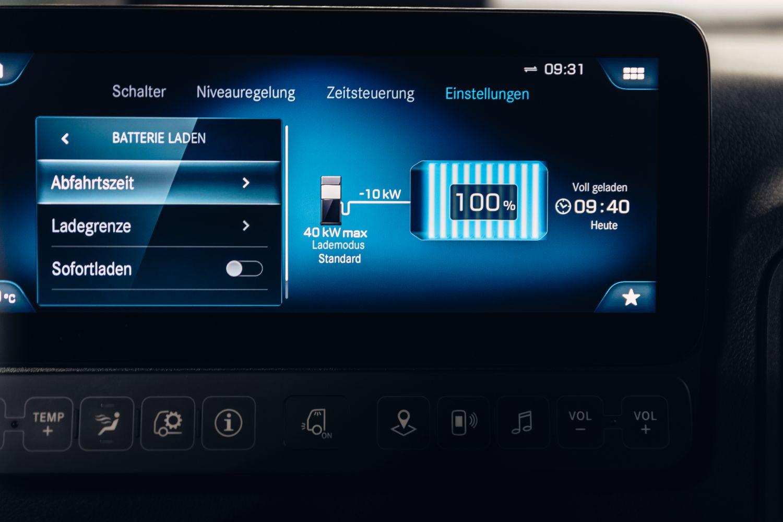 Mercedes eActros Lademanagement