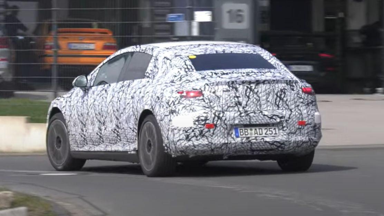 Mercedes EQE (V295) Erprobung Nürburgring