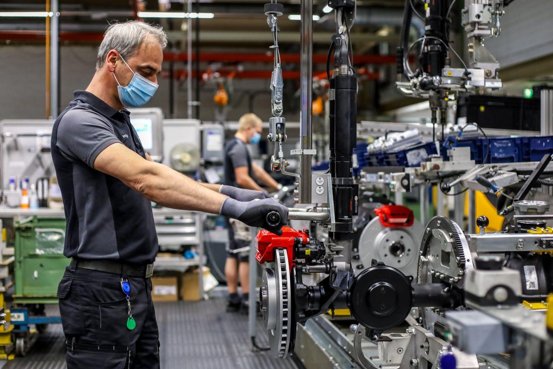 Mercedes Werk Kassel Achsproduktion G-Klasse