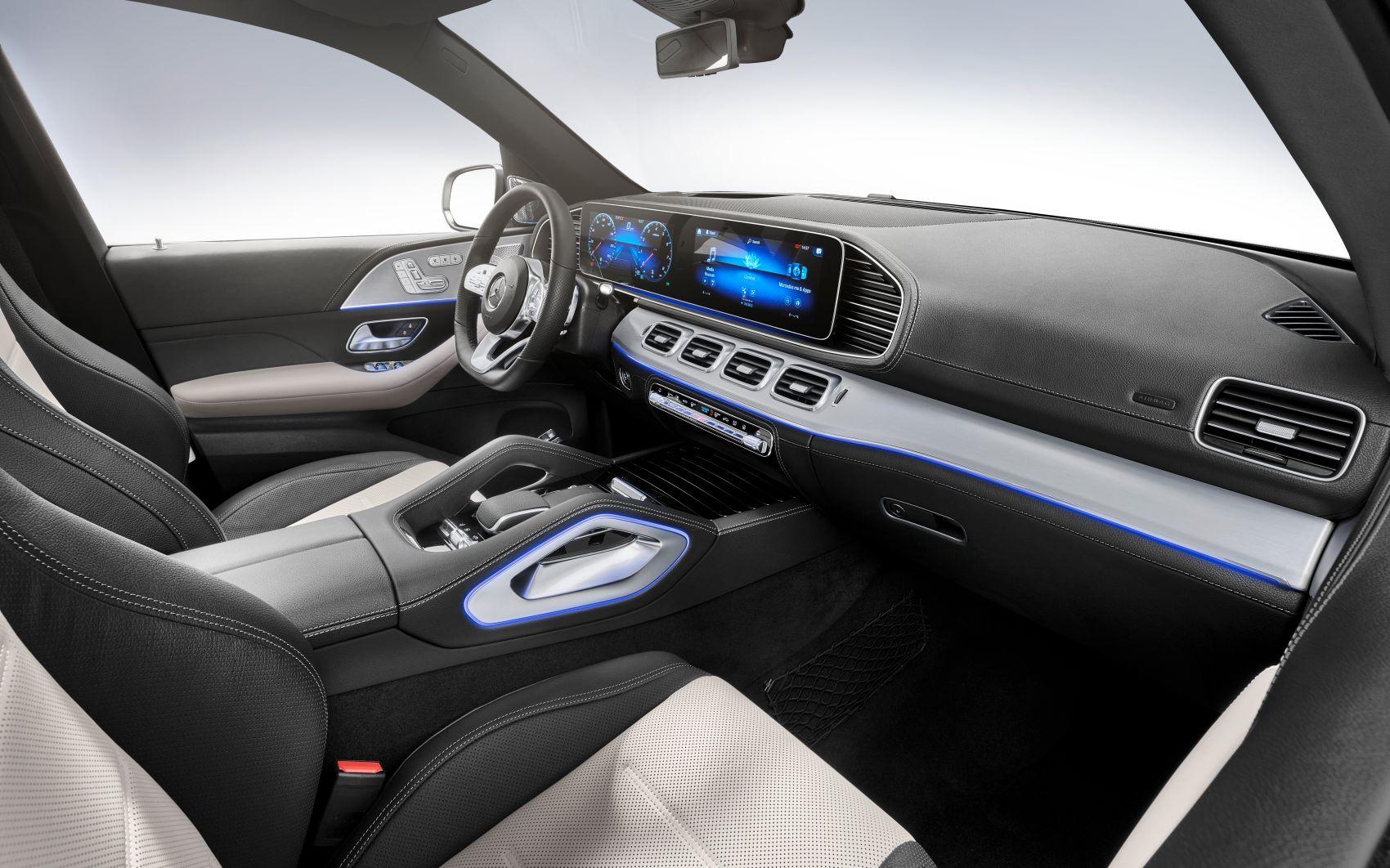 Mercedes GLE Interieur