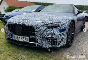 Mercedes SL AMG R232 2022