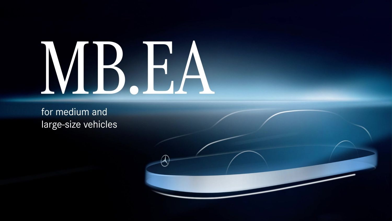 Mercedes Elektroautoplattform MB.EA