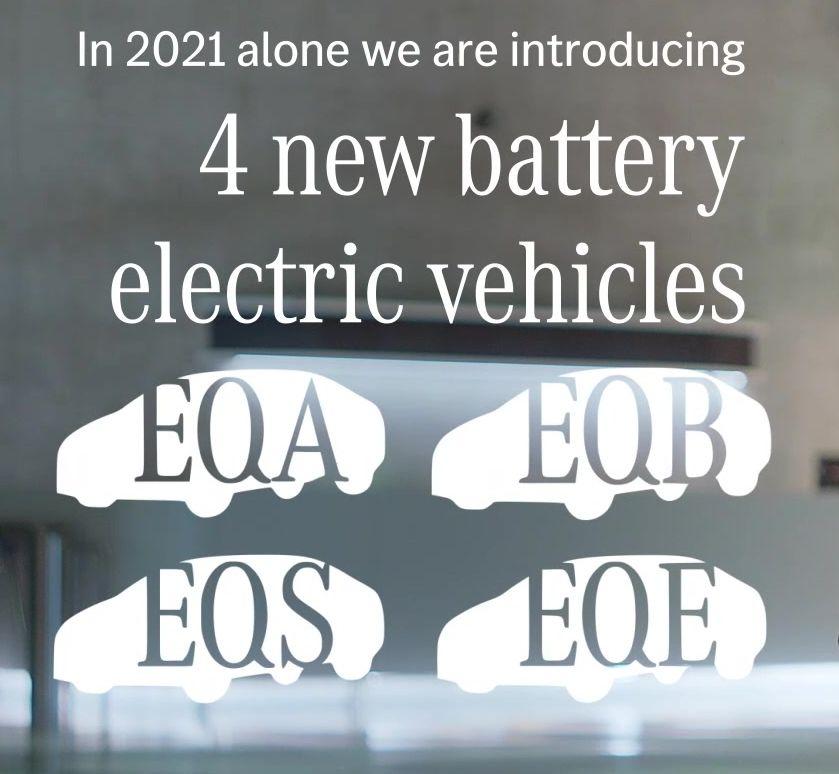 Mercedes Elektroauto Debüts 2021