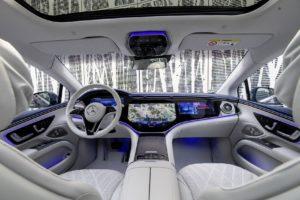 Mercedes EQS (V297) MBUX Hyperscreen