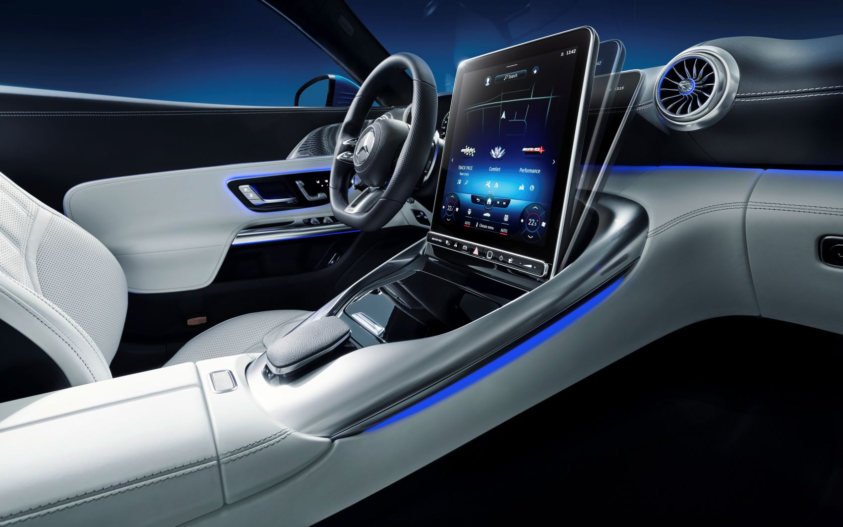 Mercedes SL R232 Interieur MBUX
