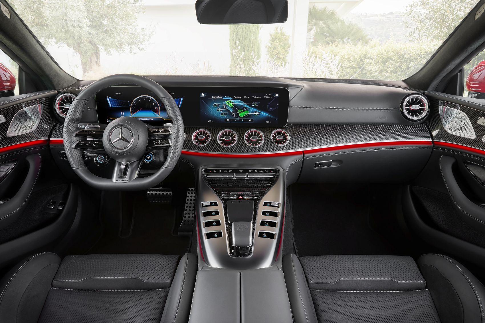 Mercedes AMG GT 63 S E Performance Interieur