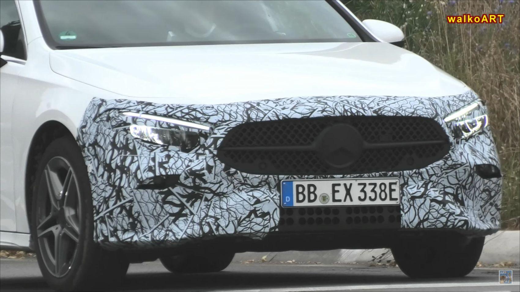 Mercedes A-Klasse 2022 Facelift