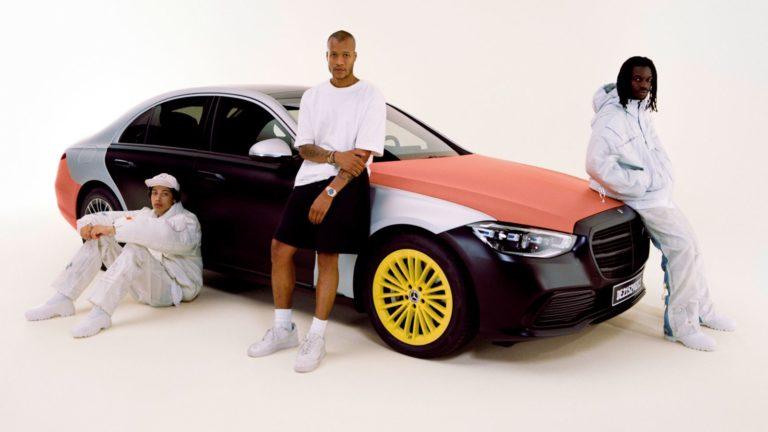 Mercedes Airbag Mode Heron Preston