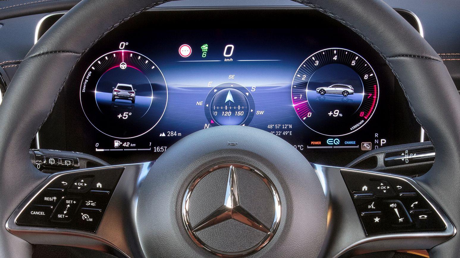 Mercedes C-Klasse T-Modell All-Terrain Offroad Tacho