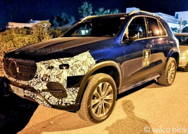 Mercedes GLE Facelift 2022