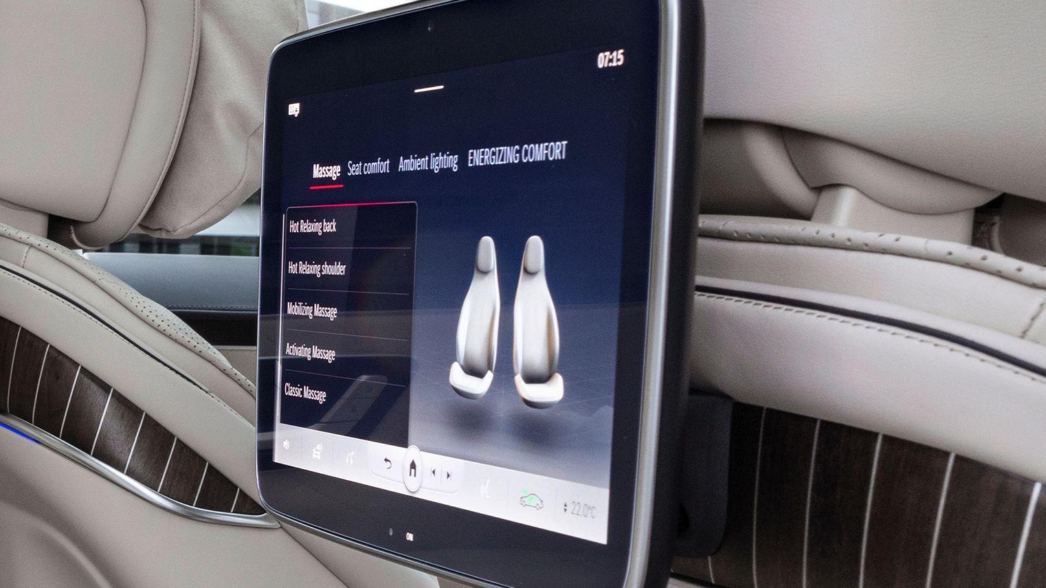 Mercedes S-Klasse Massage