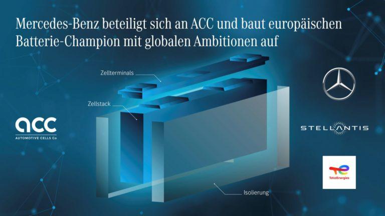 Mercedes ACC Batterie
