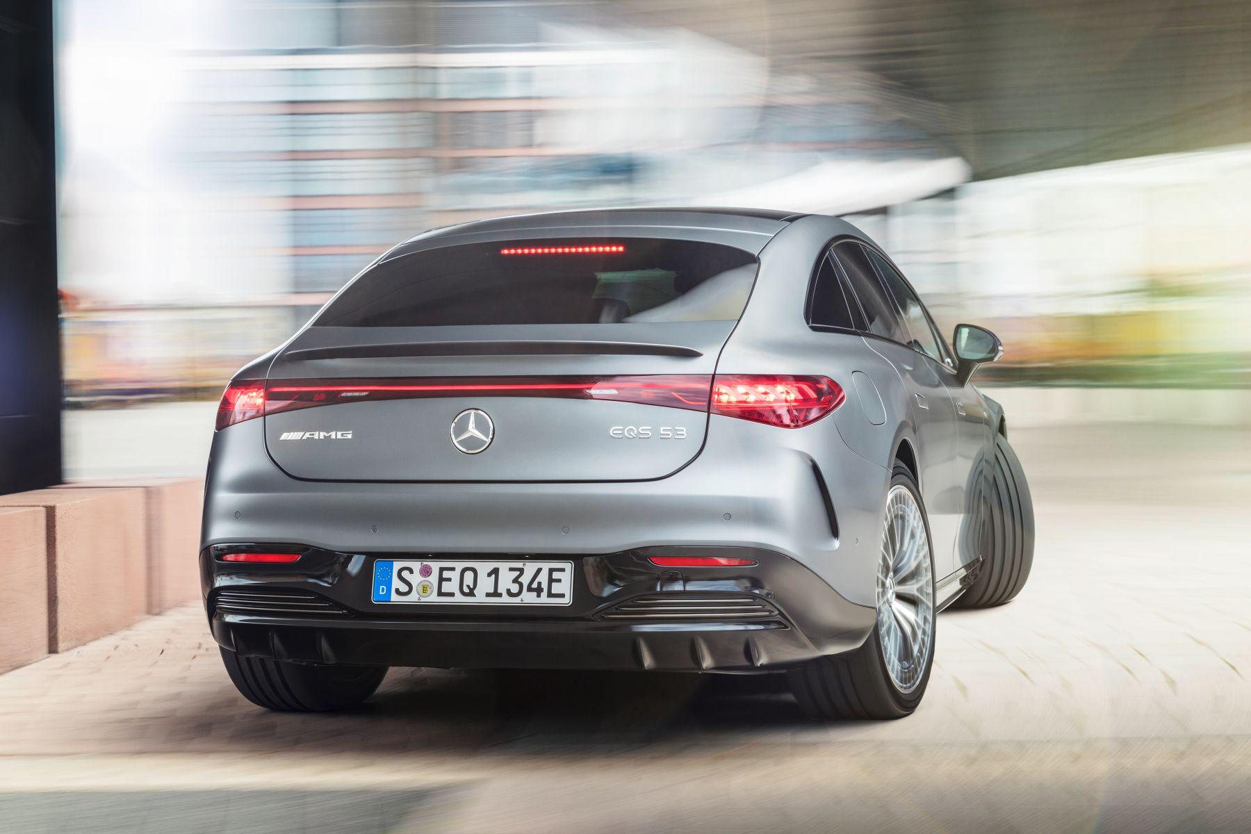 Mercedes AMG EQS 53 Hinterachslenkung