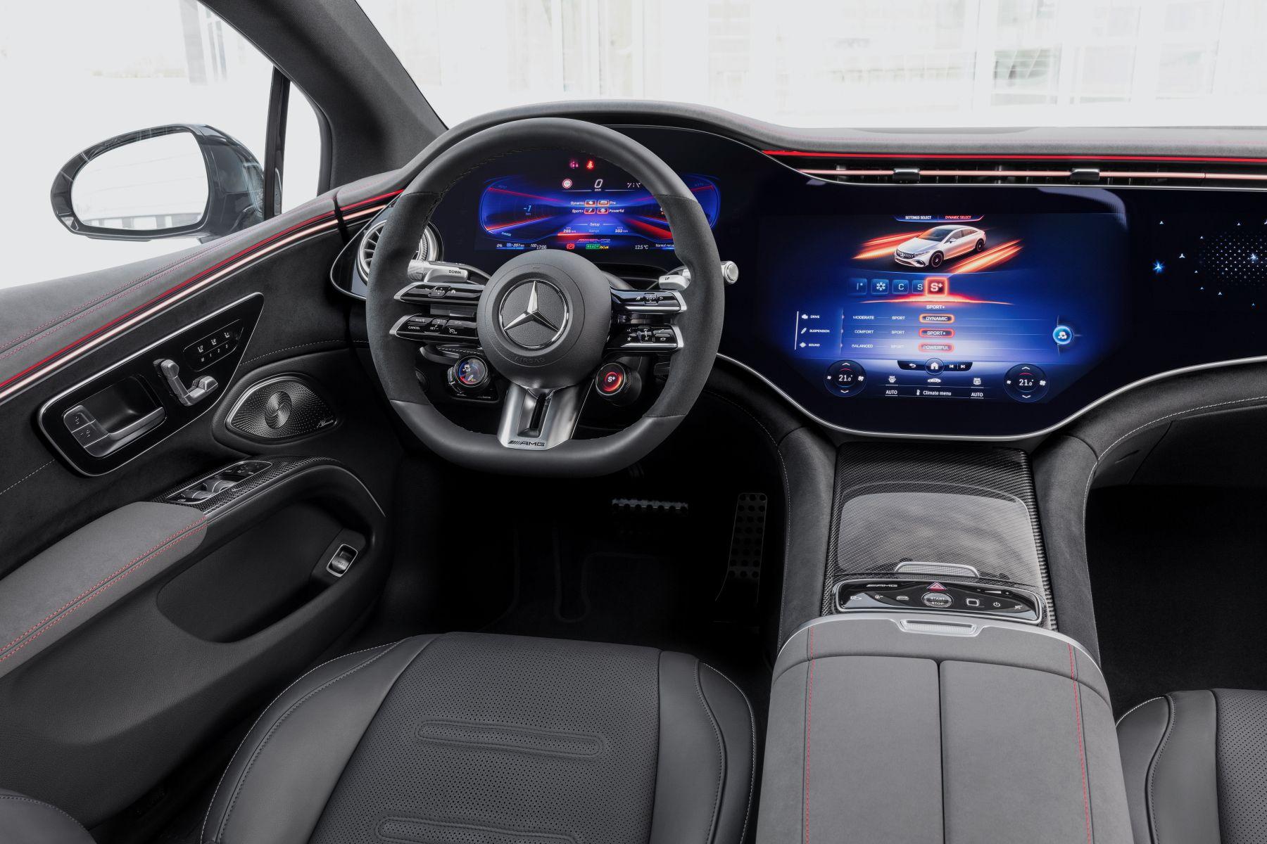 Mercedes AMG EQS 53 Interieur