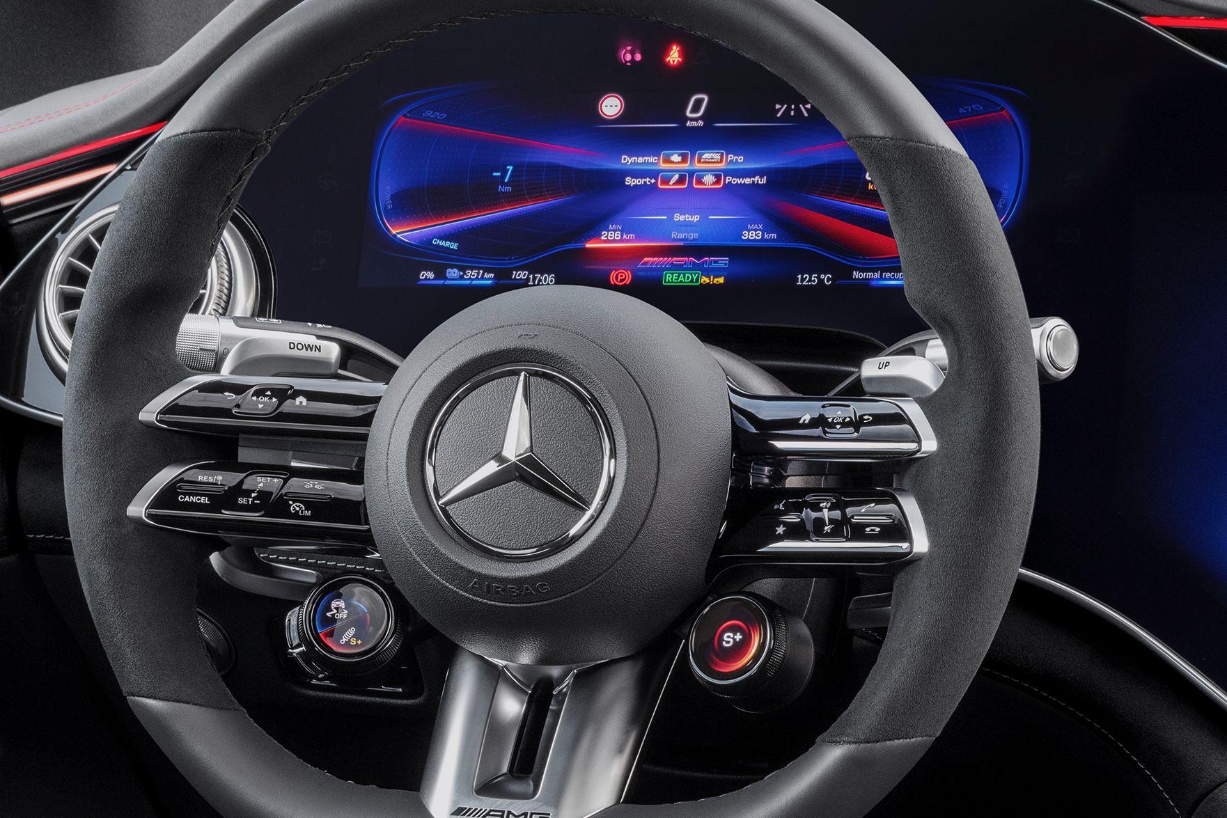 Mercedes AMG EQS 53 Kombiinstrument