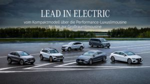 Mercedes EQ Modelle