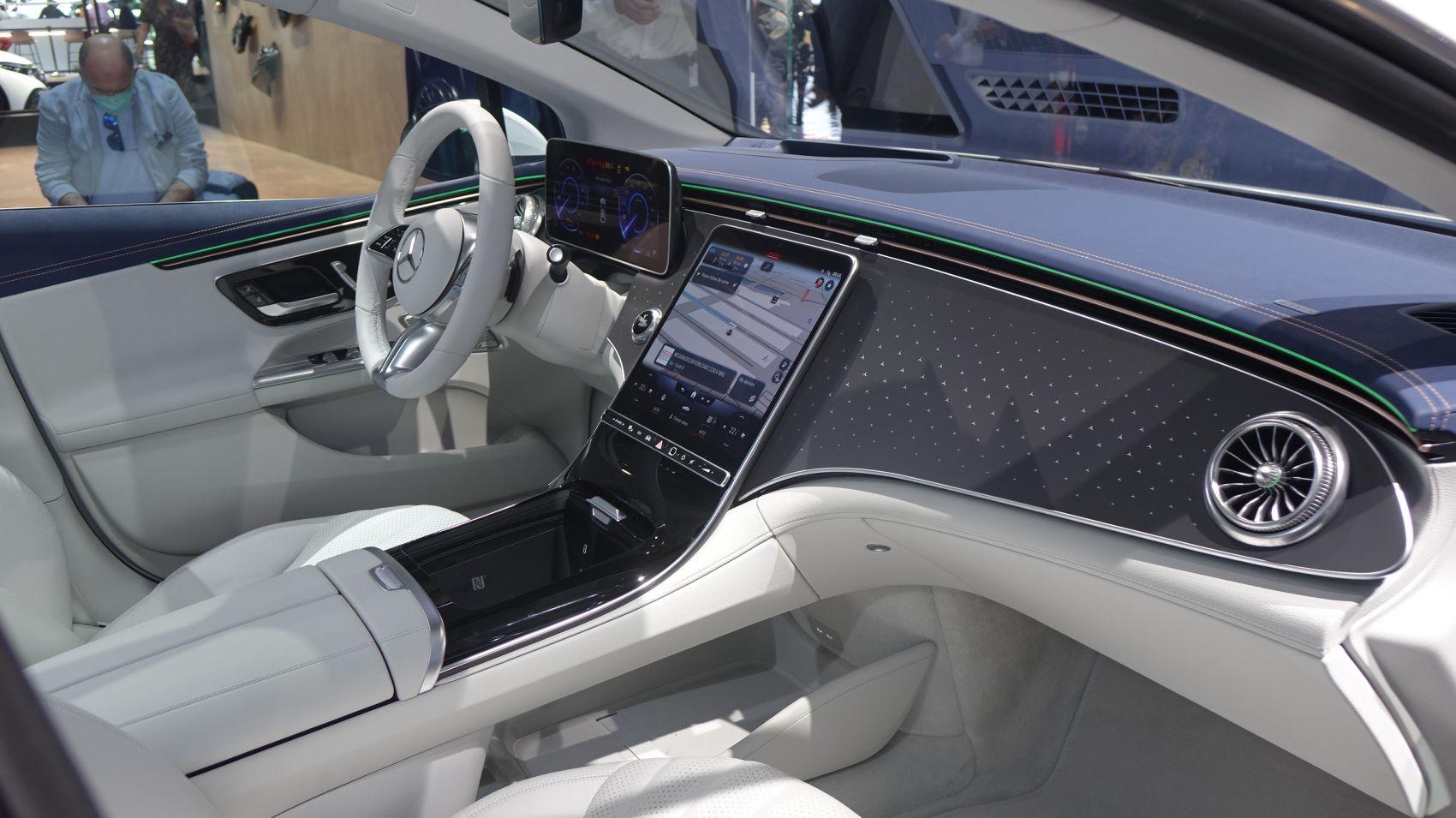Mercedes EQE Interieur