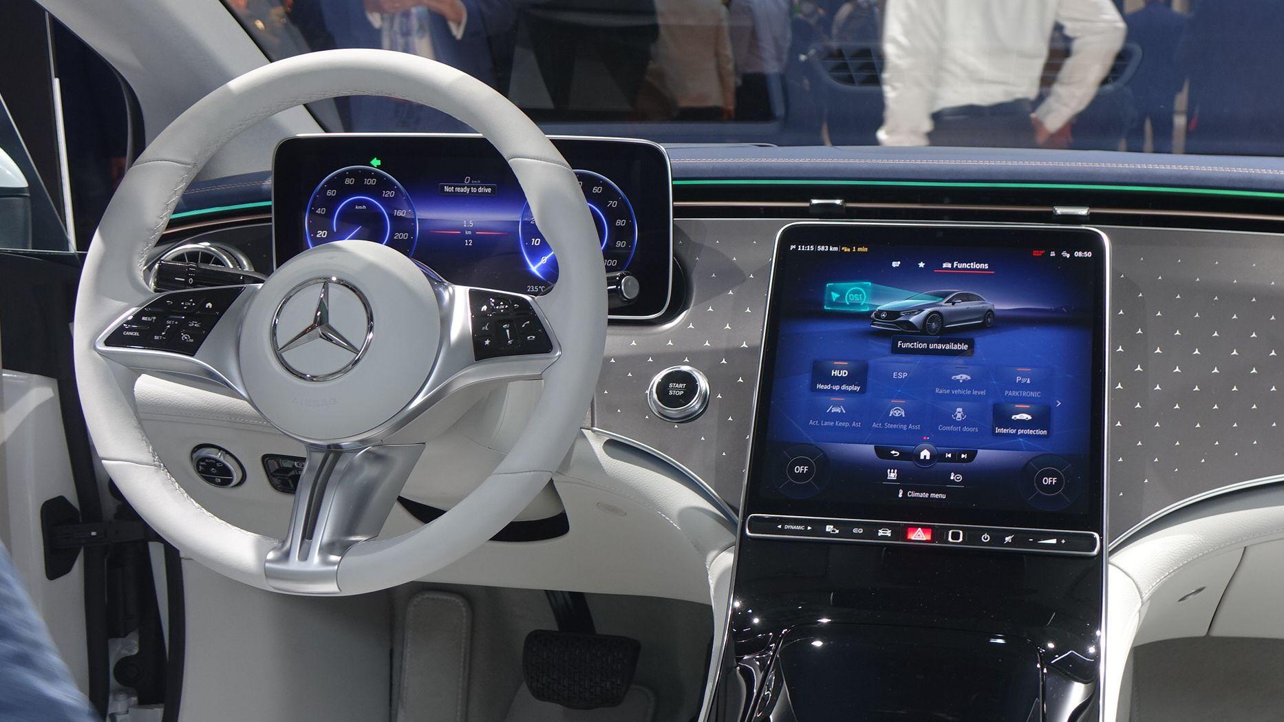 Mercedes EQE MBUX