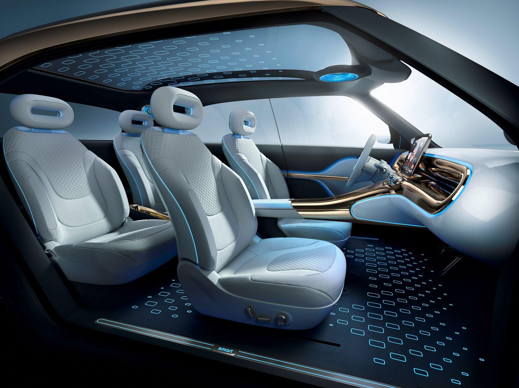 smart concept #1 SUV Interieur