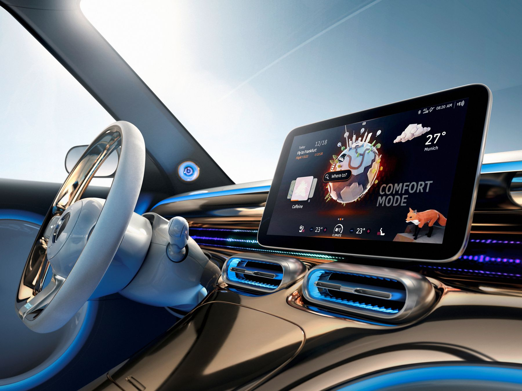 smart concept #1 Interieur