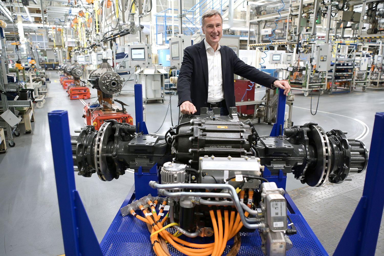 Mercedes eActros eAchse