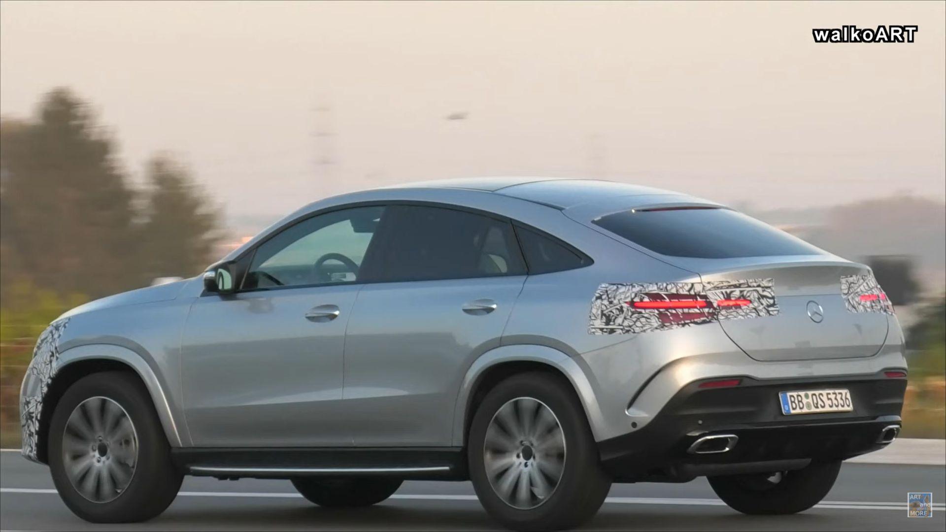 Mercedes GLE Coupé Facelift 2022