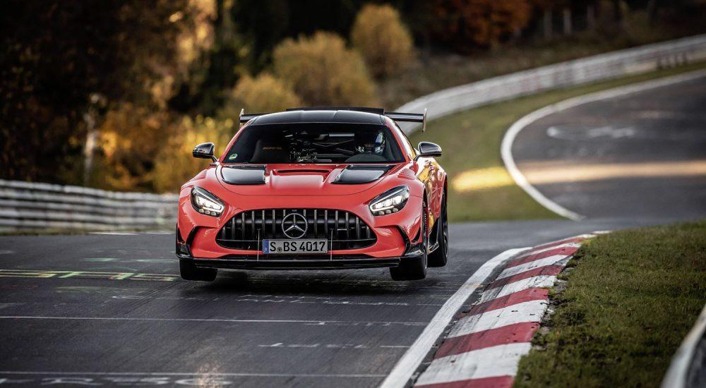 Mercedes AMG GT Black Series Nordschleife