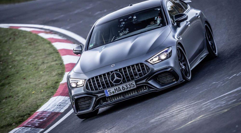Mercedes AMG GT 63 S 4matic+ Nordschleife Rundenrekord